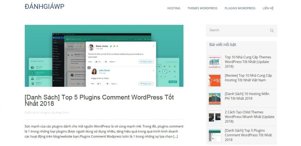 Hoàn thiện blog của bạn với themes + plugins cần thiết
