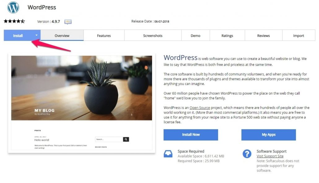Thiết lập cài đặt blog wordpress