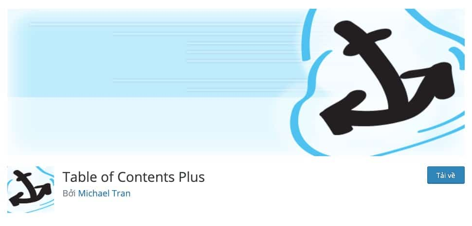 Table of Contents Plus plugin