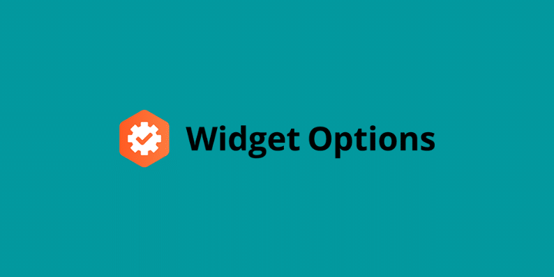 Widget Options 1
