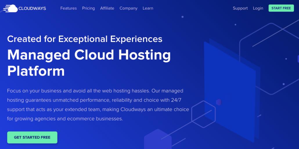 Cloudways hosting là lựa chọn tốt cho website