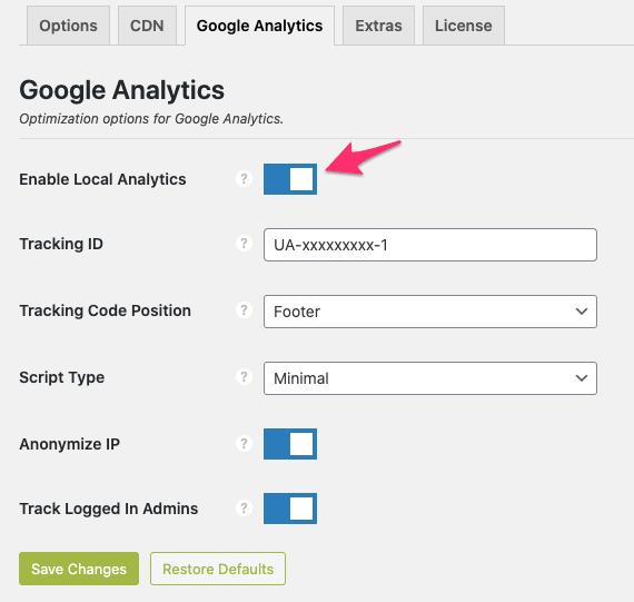 Tối ưu Google Analytics